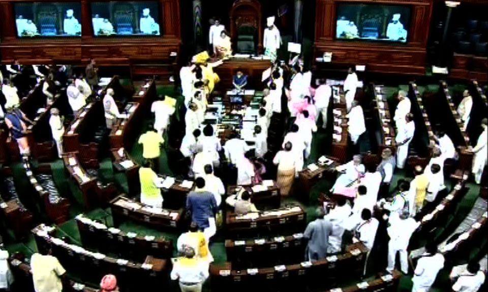 TDP, YSR Congress no-trust motions against Modi govt: Lok Sabha adjourned till Tuesday