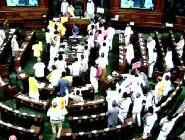 No-confidence motion not taken up; BJP willing to discuss
