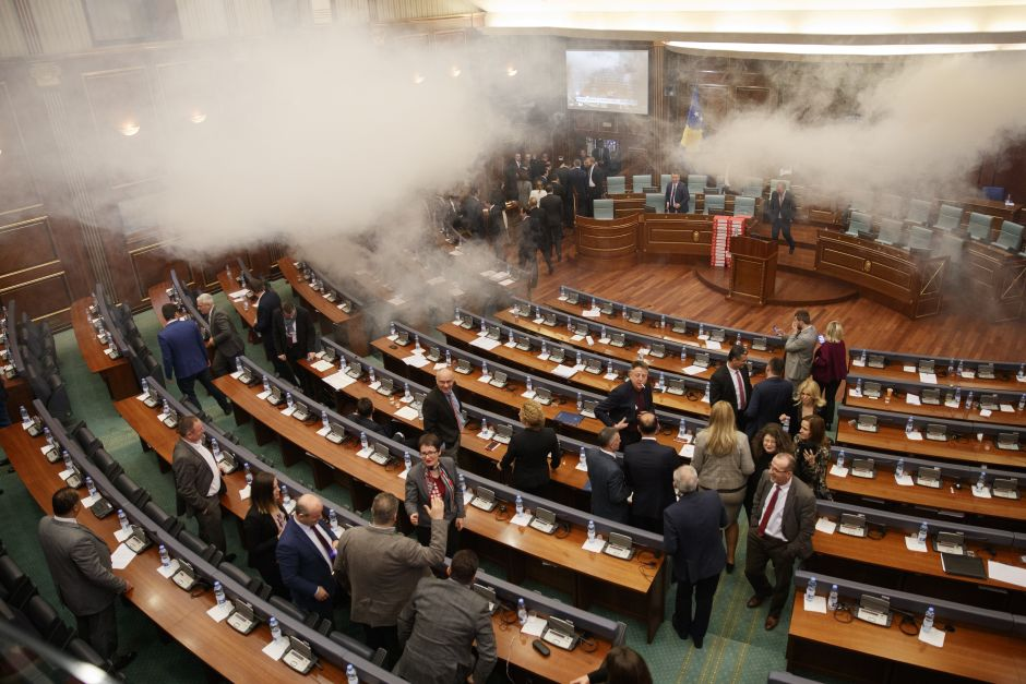 kosovo-politicians-tear-gassed-their-own-parliament