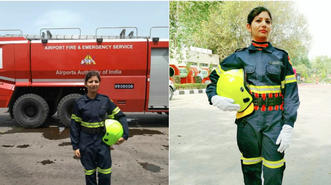 first female firefighter of india