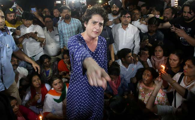 priyanka-gandhi-india-gate-angry-video-congress-candle-march