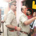 police-pasted-wanted-notice-of-bheem-army-chief-vinay-ratan-singh-in-his-presence