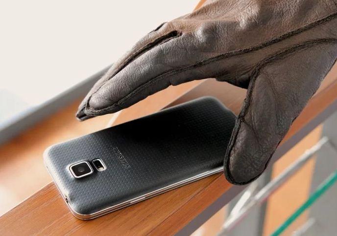 stolen smartphone