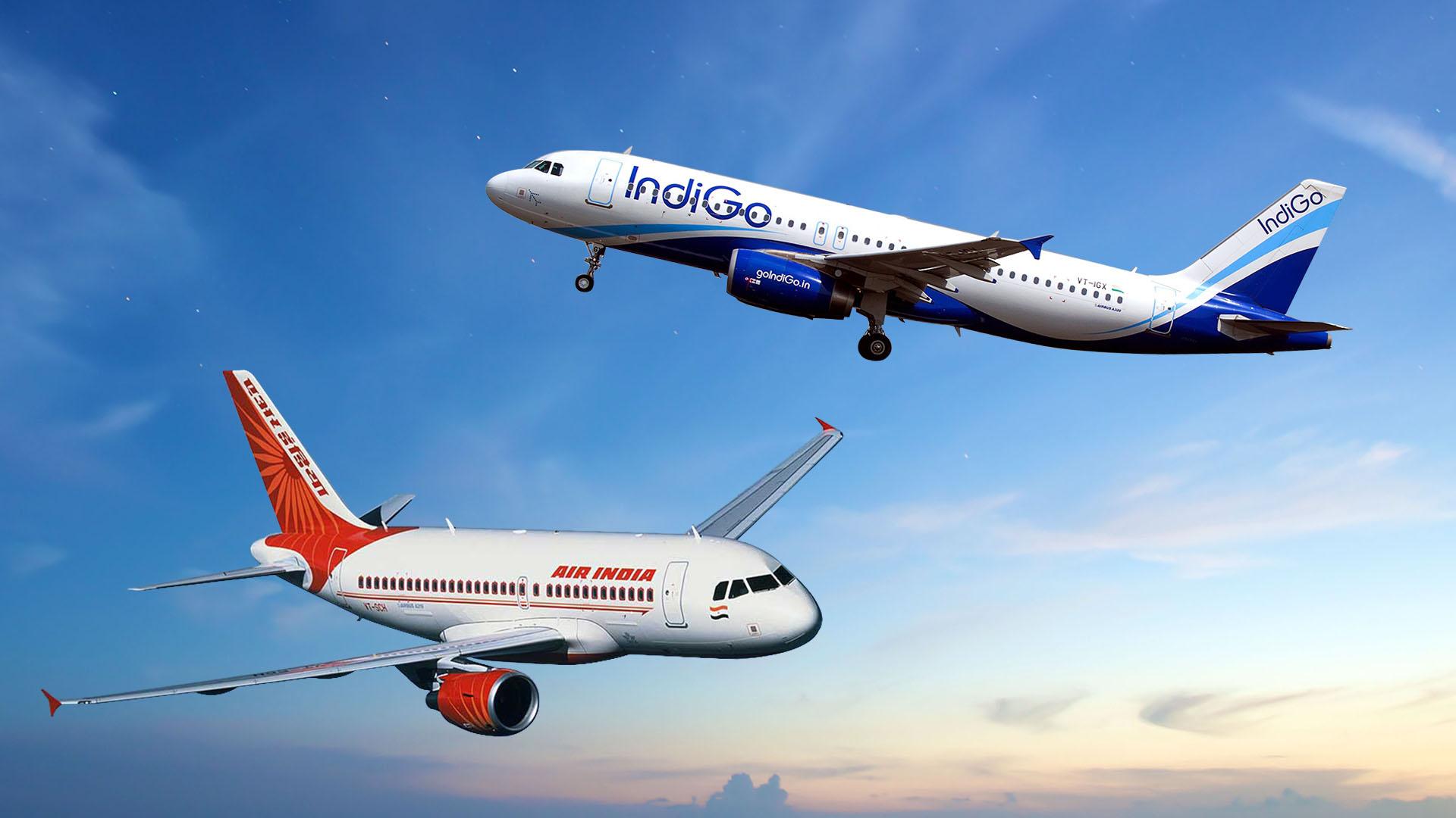 Air-india-and-Indigo