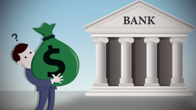 money unsafety on bank