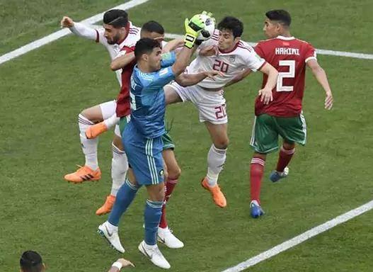 World Cup Morocco vs Iran