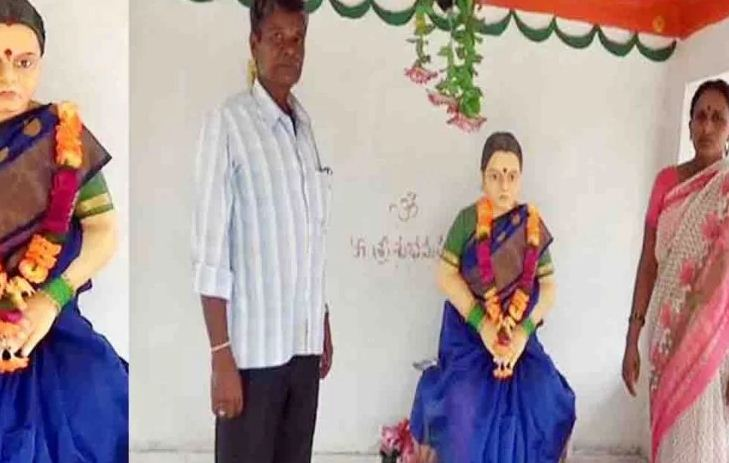 telangana-man-has-built-a-temple-in-memory-of-his-dead-wife