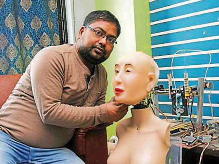 humaniid robot rashmi