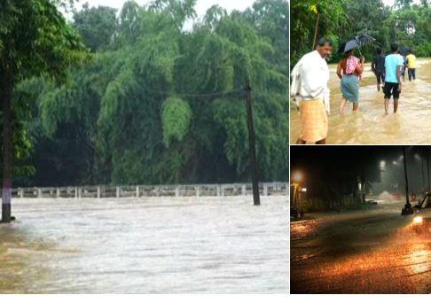 heavy rain angul and dhenkanal