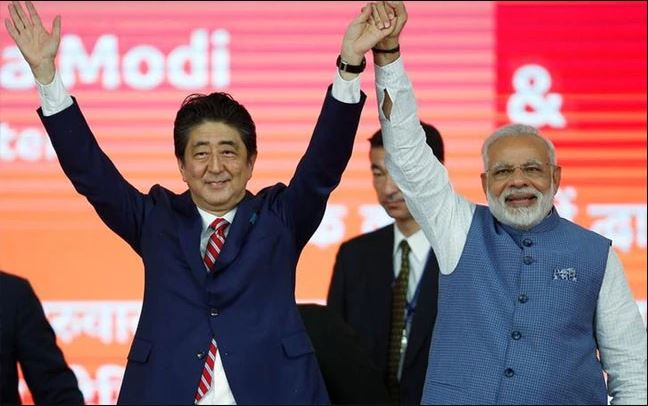 india & japan