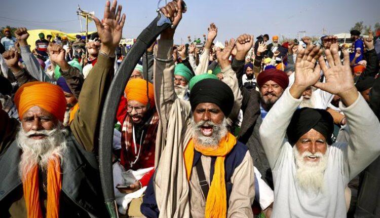 APTOPIX India Farmer Protests