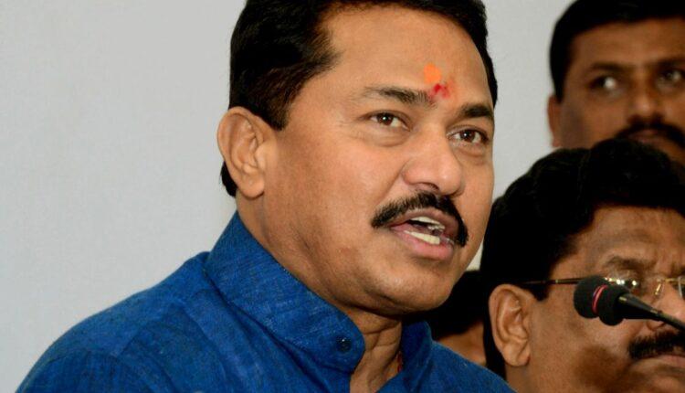 Maharashtra Assembly Speaker Nana Patole speaks to during a press conference